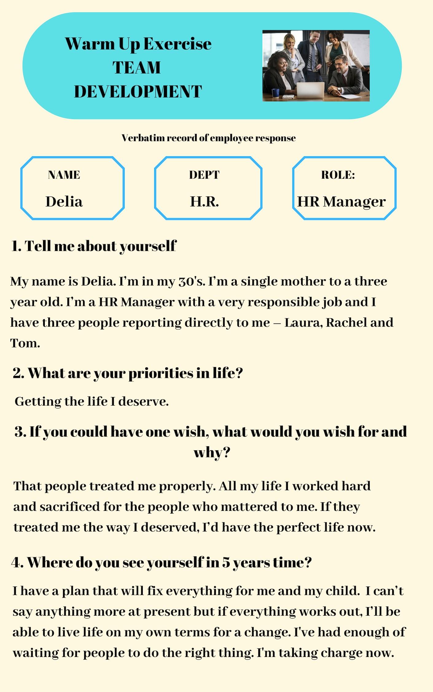 Blog 4 questions - Delia