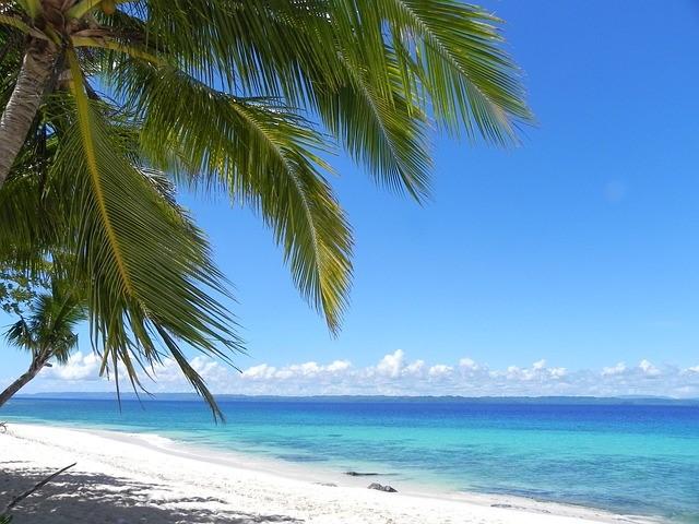 Beach - white, sandy