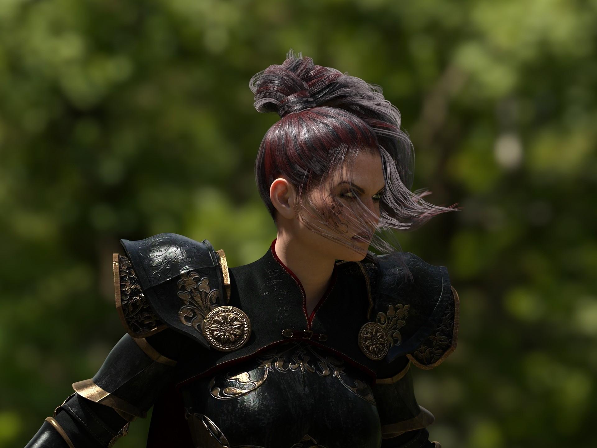 Superwoman, warrior