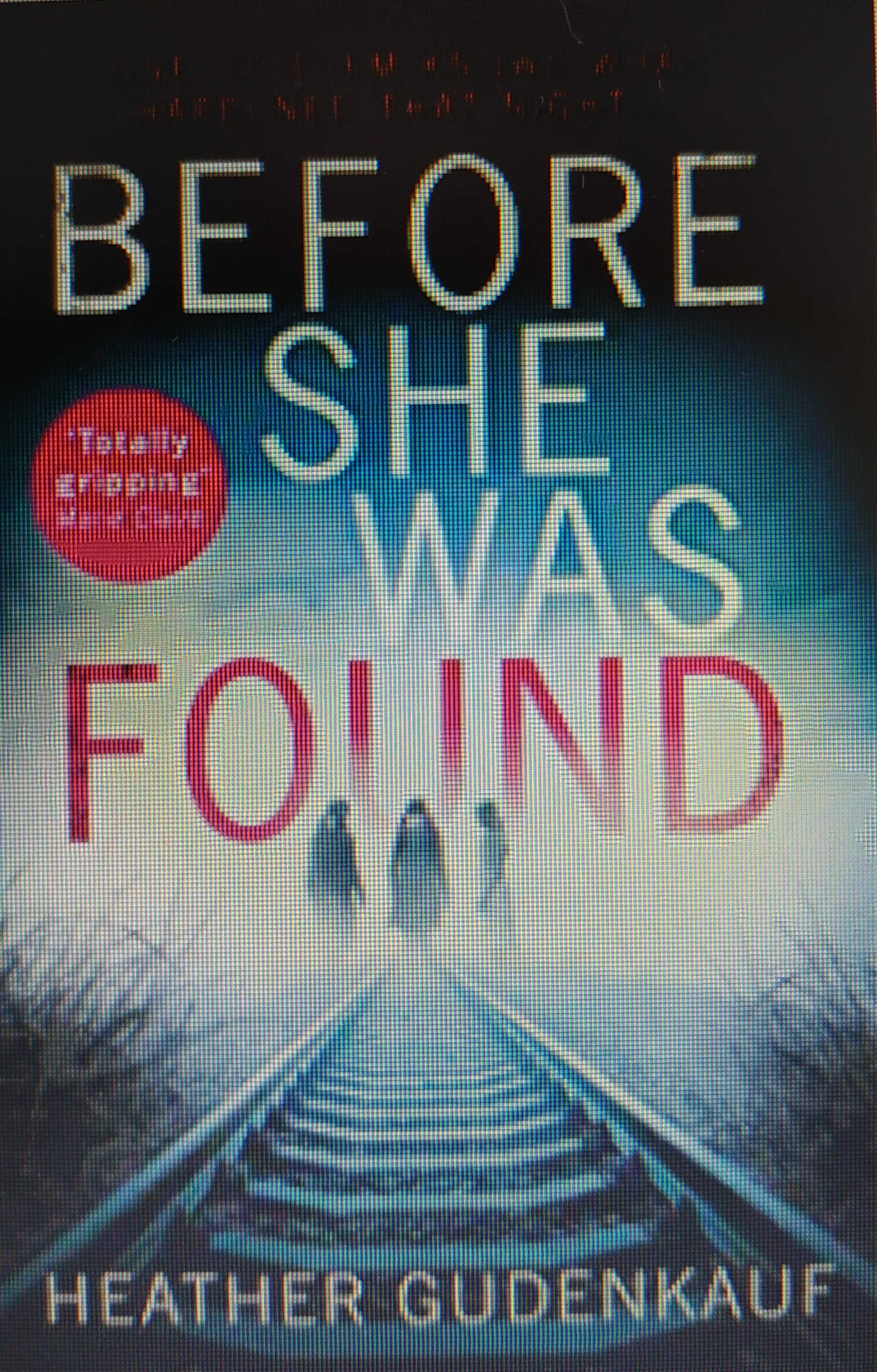Book - Before Found