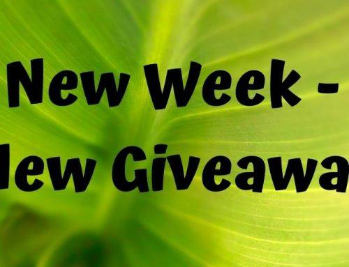New Week – New Giveaways