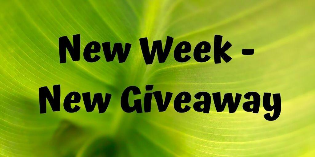 Blogpost - Giveaway Week 2