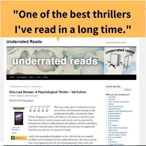 Underrated Reads - Insta
