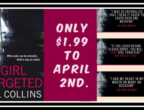 Thriller Kindle Countdown Deal – 'Girl Targeted' – Stage 2
